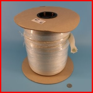 Fiberglass Braided Sleeve Industrial Grade Wire Cable Hose Protection